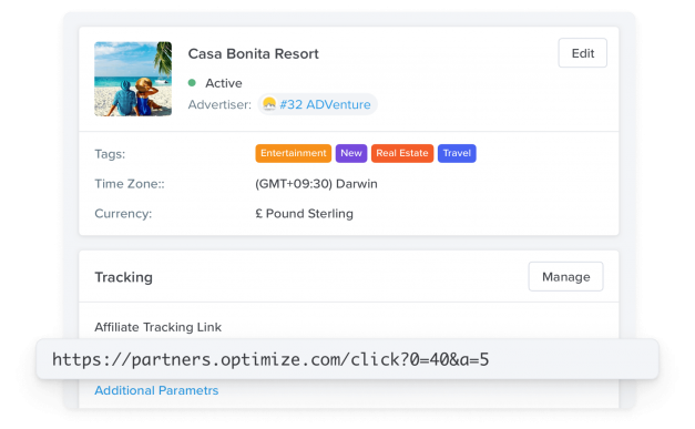 Track all your affiliate campaigns in easy-way